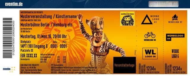 gutscheincode könig der löwen musical