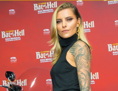 Bat Out of Hell Premiere in Oberhausen Sophia Thomalla