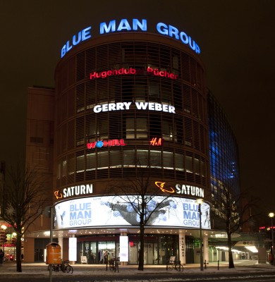 Blue Man Group im Stage Bluemax Theater