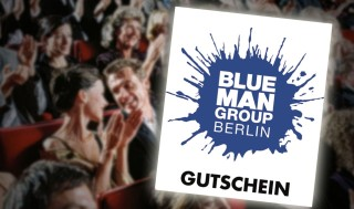 ticket hotel gutscheine blue man group berlin. Black Bedroom Furniture Sets. Home Design Ideas