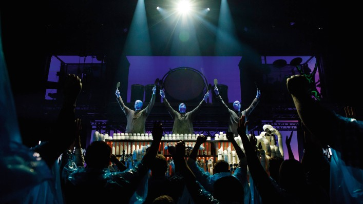 Blue Man Group Musical In Berlin Stage Bluemax Theater Tickets