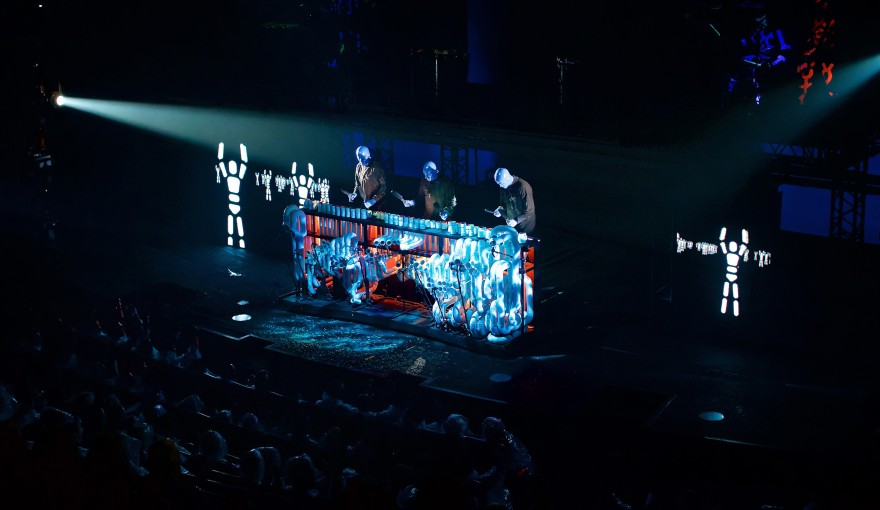 BLUE MAN GROUP | Musical in Berlin | Stage BLUEMAX Theater | Tickets ...